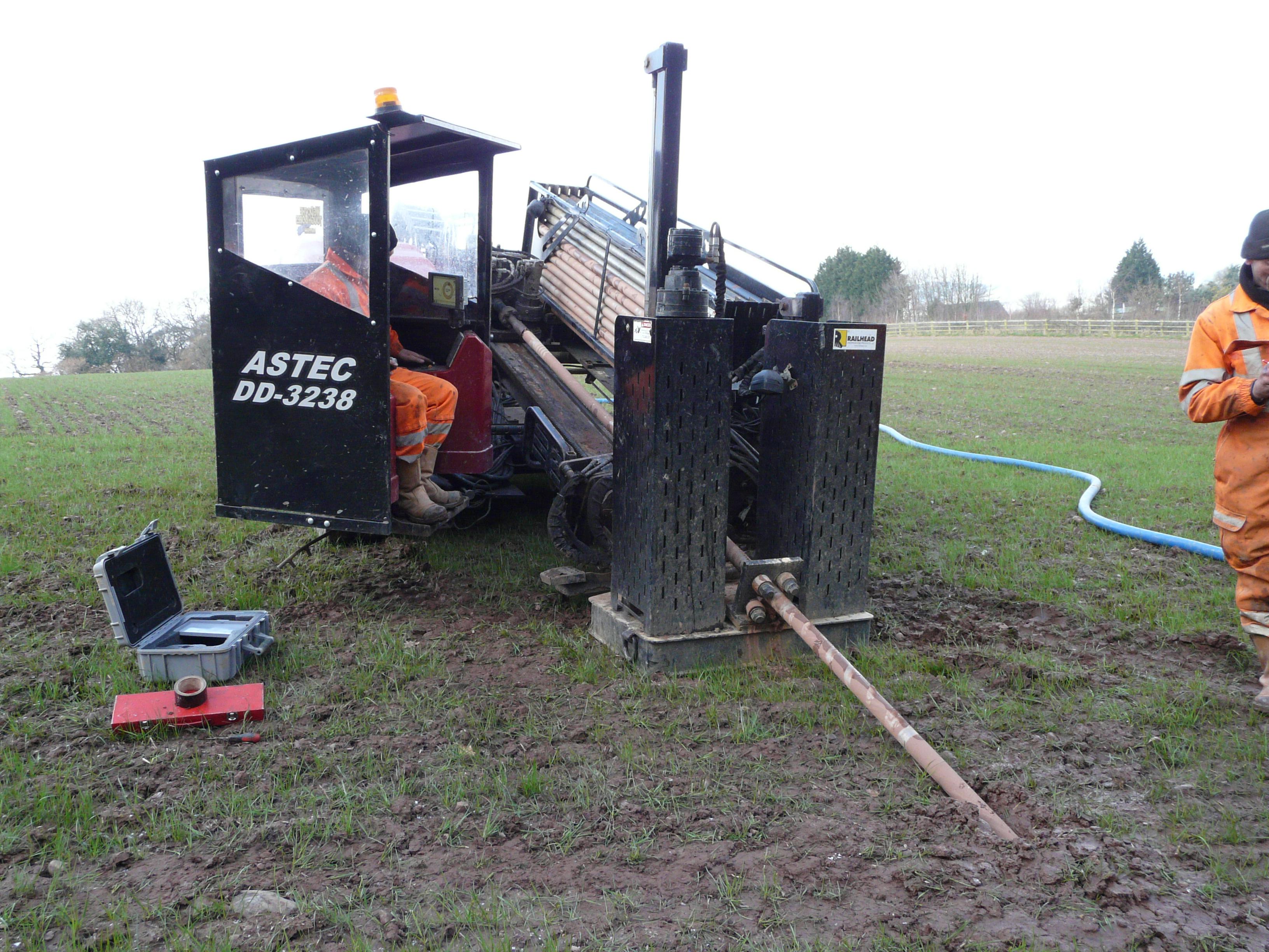 Gary and Drilling Machine
